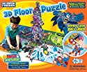 Buffalo Games Build and Explore 39071 DC Superfriends 3D Floor and Game Puzzle