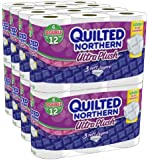 QuiltedNorthern UltraPlushToiletPaper, Double-Rolls, 96 Count