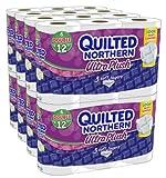 QuiltedNorthern UltraPlushToiletPaper, Double-Rolls, 96 Count