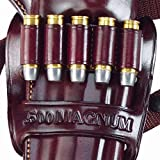 Galco Kodiak Holster Ammo Bandolier - Right Hand - Havana