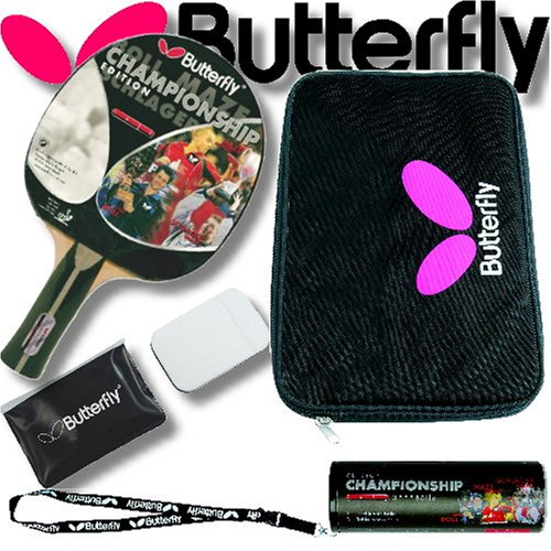 Butterfly TT-Set CHAMPIONSHIP BLACK DIAMOND