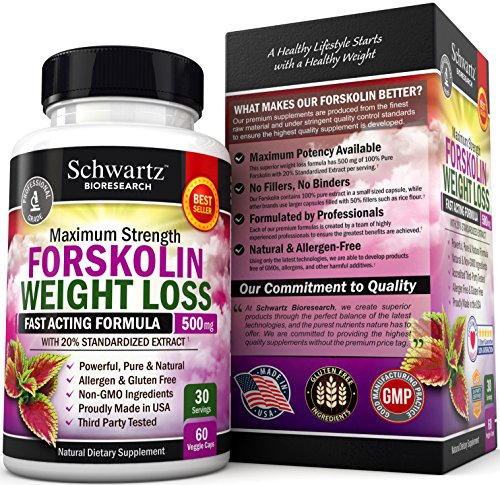 Forskolin Extract for Weight Loss. Pure Forskolin Diet ...