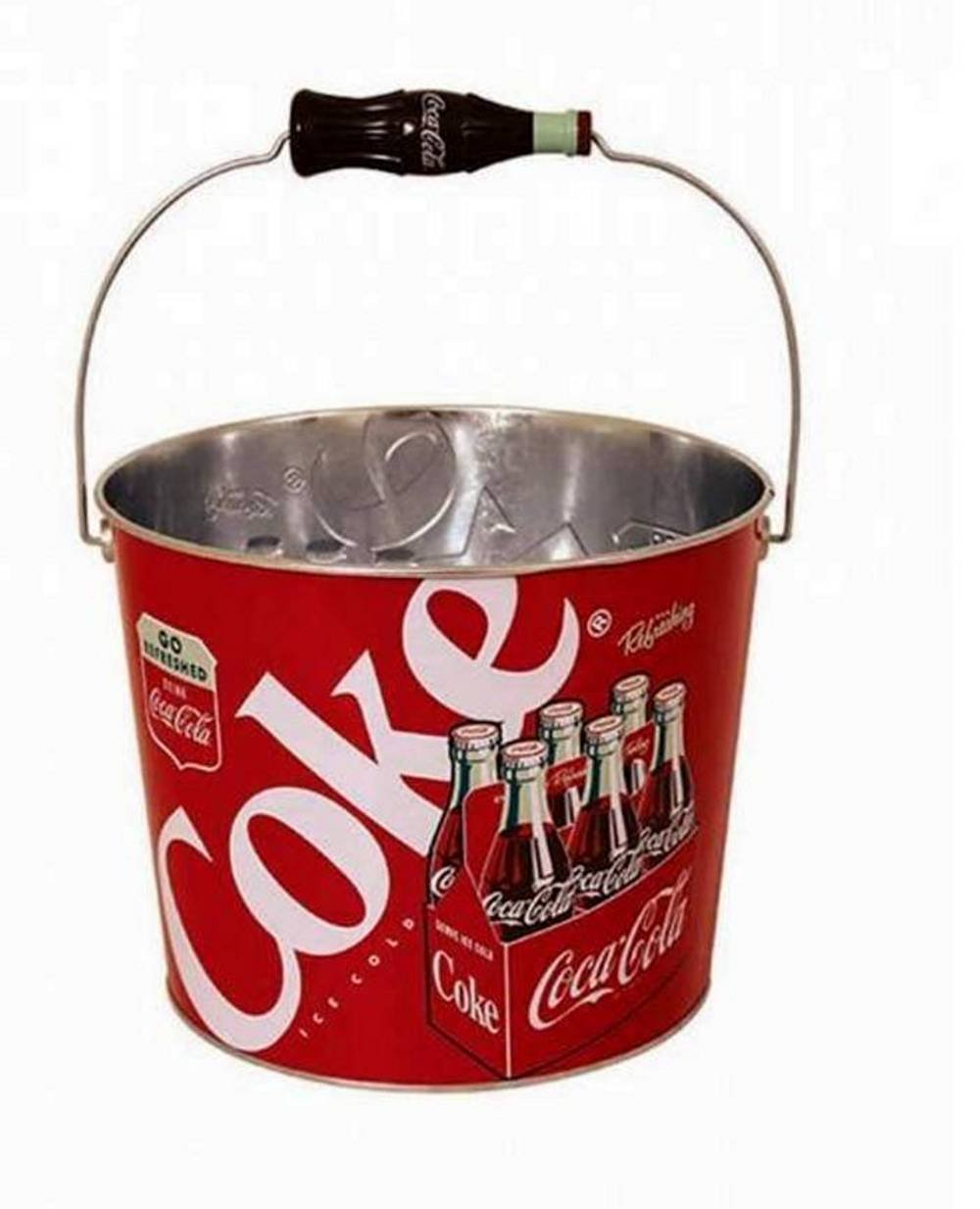 Coca Cola Coke Retro Beverage Bucket 0