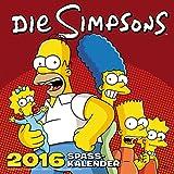 Die Simpsons Wandkalender 2016: 2016 Spasskalender