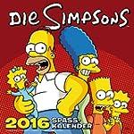 Die Simpsons Wandkalender 2016: 2016...