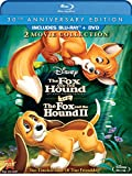 The Fox and the Hound / The Fox and the Hound Two (Three-Disc 30th Anniversary Edition Blu-ray / DVD Combo in Blu-ray Packaging)