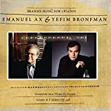 Brahms: Music for 2 Pianos