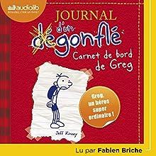Carnet de bord de Greg Heffley (Journal d'un dégonflé 1) | Livre audio Auteur(s) : Jeff Kinney Narrateur(s) : Fabien Briche