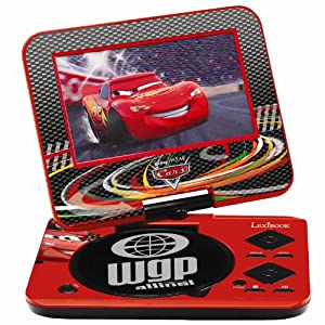 disney pixar cars 2 portable dvd player toys amp games. Black Bedroom Furniture Sets. Home Design Ideas