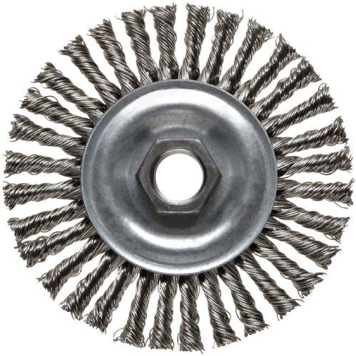 Weiler Vortec Pro Narrow Face Wire Wheel Brush Threaded