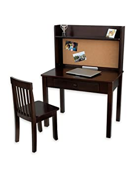 Kidkraft Pinboard Desk With Hutch And Chair