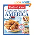 Taste of Home Recipes Across America: 735 of the Best Recipes from Across the Nation