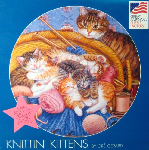 Knittin' Kittens by Gre Gerardi