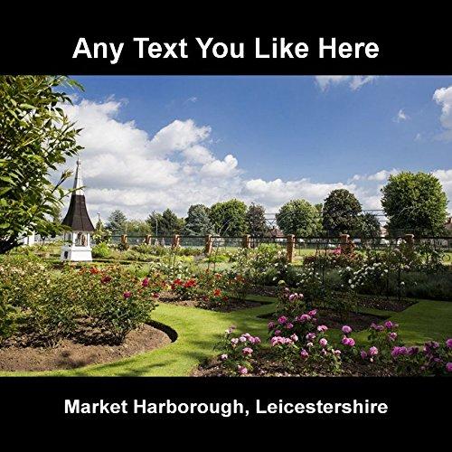 Martingala tedesca (Market Harborough) Leicestershire Sottobicchiere, personalizzato