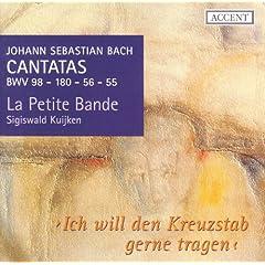 Bach, J.S.: Cantatas, Vol. 1 - Bwv 55, 56, 98, 180
