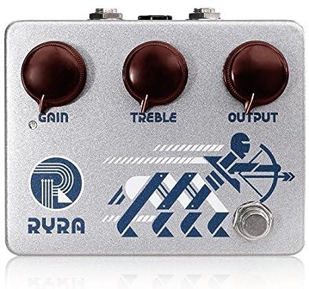 RYRA The Klone Silver Metalic アールワイアールエー ザクローンシルバーメタリック 国内正規品 オーバードライブ/ブースター