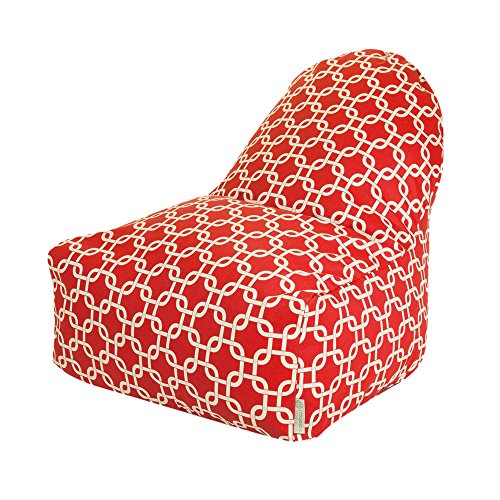 Majestic home goods kick it chair red links garden decor for Home goods patio furniture cushions