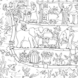 Really Giant Posters Noah's Ark Colouring Poster by Amanda Loverseed - GIANT Size: 100 x 75cm