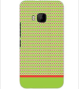 PrintDhaba Pattern D-1903 Back Case Cover for HTC ONE M9 (Multi-Coloured)