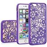 """Mysterious iPhone 6 Case – VENA [TACT ARMOR] Shock Absorbent Cover Slim Hybrid Armor Case for Apple iPhone 6 (4.7"""") – Flora… Deals Low Price"""
