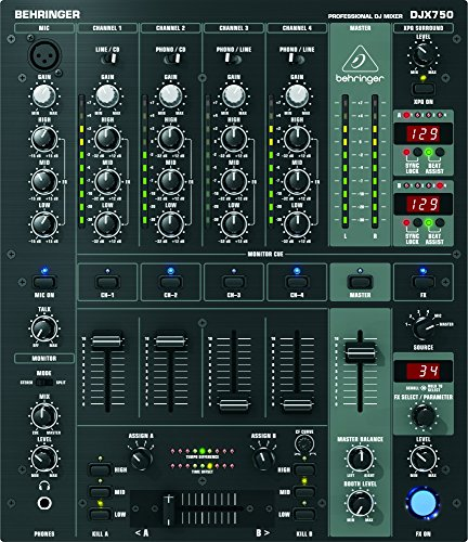 BEHRINGER PRO MIXER DJX750 (Dj Mixers compare prices)