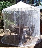 9' Table Umbrella Mosquito Netting