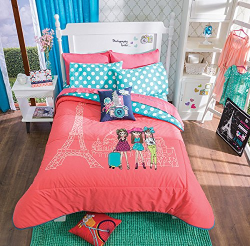 Girls Paris Comforters