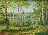 クロスステッチ 刺繍 キット 林湖
