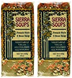 All Natural Gluten Free Vegetarian Vegan French Style Five Bean Soup Mix Pack of 2 525 g 18 oz each