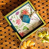 ExclusiveLane Wooden Floral Leaf Design Napkin Holder
