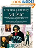 Essential Dictionary of Music: Pocket Size Book (Essential Dictionary Series)