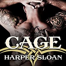Cage: Corps Security, Book 2 (       UNABRIDGED) by Harper Sloan Narrated by Abby Craden, Sean Crisden