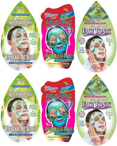 Montagne Jeunesse Five Minute Face Masque Sachets - Pack of 6