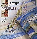 echange, troc Marie Bonhoure-Marsillach - Lettres & couleurs : 22 modèles Déco