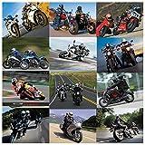Autanic Motorcycle Snowmobile Helmet Bluetooth Multi Interphone Headsets 1km for 6 Riders Intercom Bluetooth