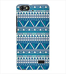 ColourCraft Tribal Pattern Design Back Case Cover for HUAWEI HONOR 4C