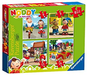 Ravensburger Noddy 4 in a Box Jigsaw Puzzles