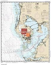 NOAA Chart 11412 Tampa Bay and St Joseph Sound 2100 X 2642 SMALL FORMAT WATERPROOF