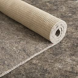 Felt & Rubber Rug Pad - Reinforced Natural Rubber Backing - 20 Year Warranty - More Sizes Available - Anchor Grip 30 (3/8\'\' Thick - Felt & Rubber, 5\' x 7\' - Rectangle )