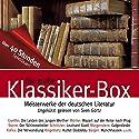 Die große Klassiker-Box Audiobook by Franz Kafka, Arthur Schnitzler, Theodor Storm Narrated by Sven Görtz