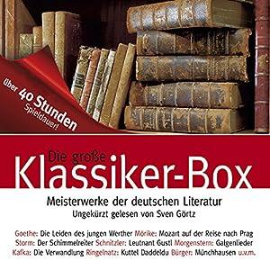 Die große Klassiker-Box Hörbuch