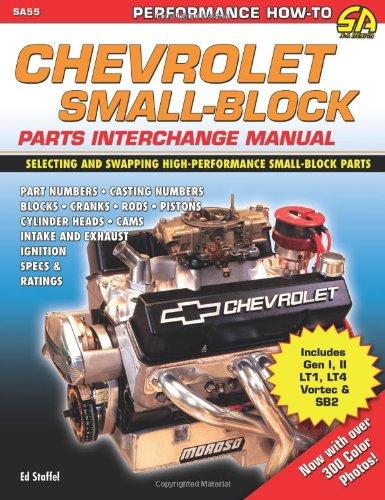 Chevrolet Small Block Parts Interchange (SA Design)