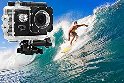 Asmart center® E3 1080P Wifi Waterproof Sports Camera Diving 30M Waterproof extreme Helmet Cam G-Senor DVR HD Sport Action Camcorder-black
