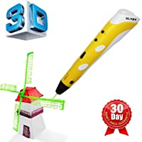 Glyby Intelligent 3D Stereoscopic Printing Pen in Yellow