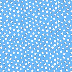 SheetWorld Fitted Oval Crib Sheet (Stokke Sleepi) - Primary Stars White On Blue Woven - Made In USA