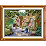 Joy Sunday Cross Stitch Kits 14CT Counted Life in Countryside 18.5