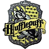 HARRY POTTER House of HUFFLEPUFF British Logo PATCH