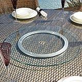 Drehteller-Drehplatte-gro-fr-den-Garten-Glas-durchsichtig-800-mm-mit-Loch-fr-den-Esstisch