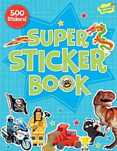 Peaceable Kingdom Crazy Cool 500-piece Super Sticker Book
