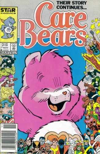 Care Bears #7 : The Saddest Man In The World (Marvel Comic Book 1987) front-729052